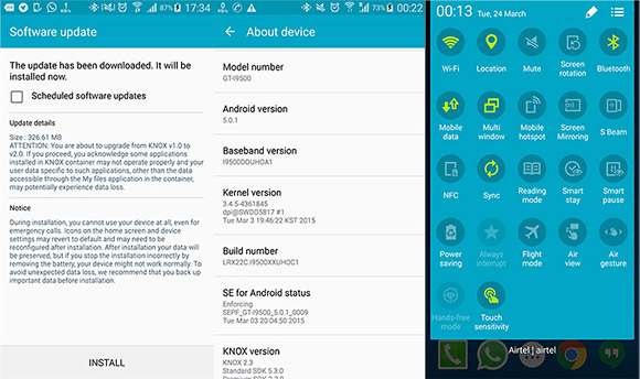 how to open samsung galaxy s5 forgot password