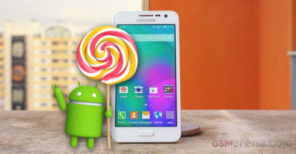 The Galaxy A3 Lollipop Update Is Available Both Over Air And Via Kies Suite First Country To Get New System Russia