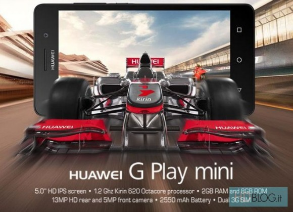 Huawei G Play Mini becomes official in Italy - GSMArena com news