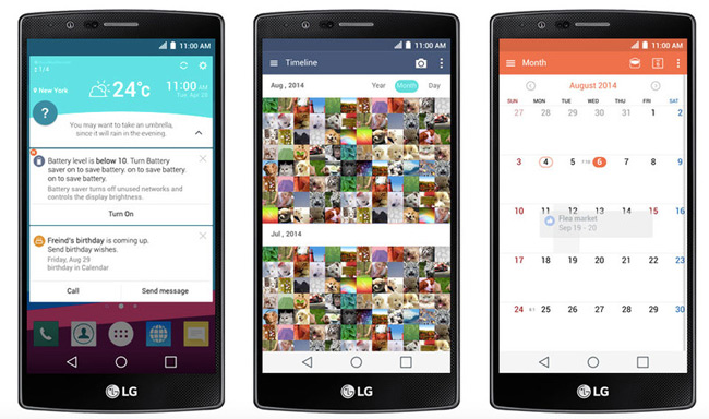 The LG G4 Will Run Latest UX 40 And Company Has Already Teased Some Of New Features There Be QuickCircle Cases Too