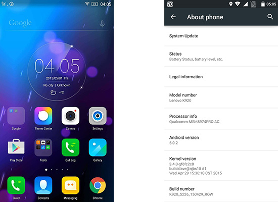 Lenovo Vibe Z2 Pro is getting Lollipop update in India