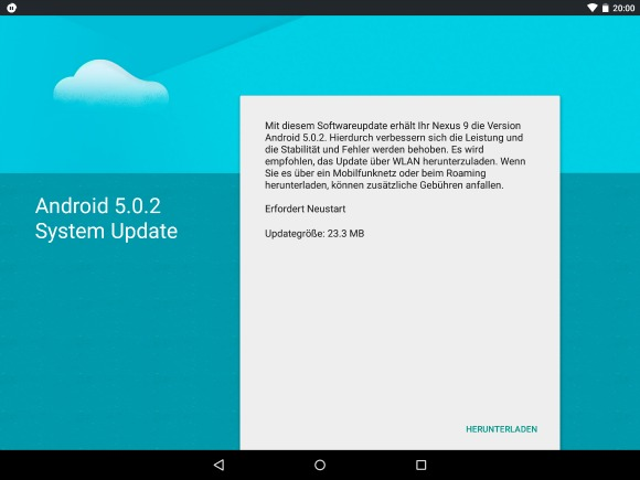 HTC Nexus 9 gets Android 5.0.2 update while waiting for 5 ...