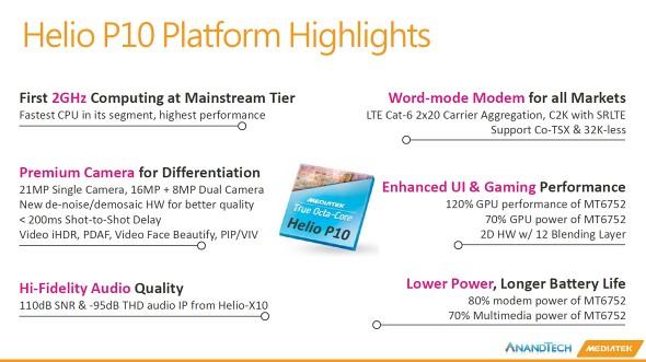 Mediatek Helio P10 Announced With Octa Core Cpu And Cat 6 Lte Gsmarena Com News