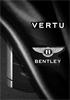 Vertu Signature for Bentley goes feature phone