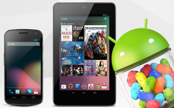 Android 4.1 Jelly Bean preview