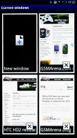 Android Browser on Sony Ericsson XPERIA X10