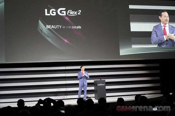 LG G Flex2 press conference