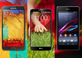 LG G2 vs. Samsung Galaxy Note 3 vs. Sony Xperia Z1: The triumvirate