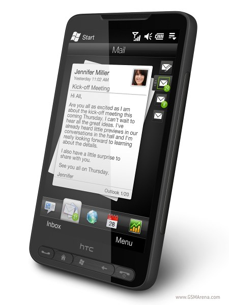 HTC HD2 pictures, official photos