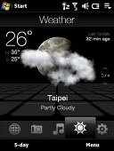 HTC Touch Diamond screenshot