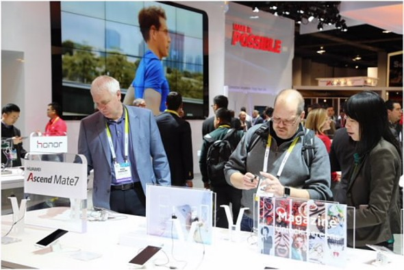 Huawei at CES 2015