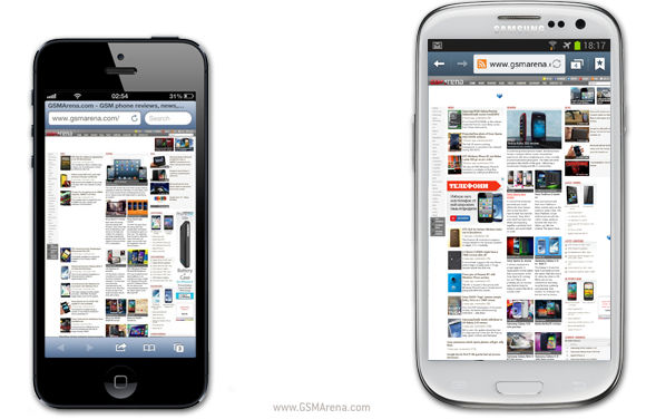 best iphone browser apple iphone 5 vs samsung i9300 galaxy s iii web 10247