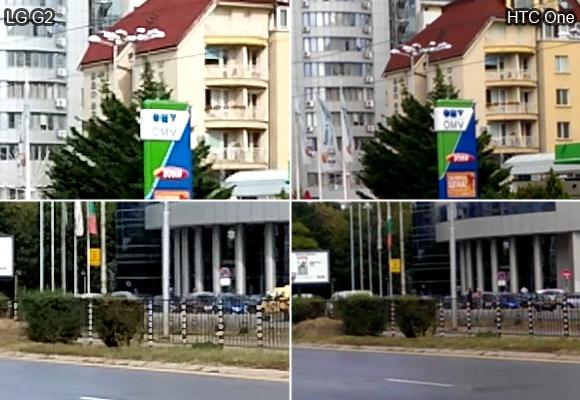 LG G2 vs HTC One: Video camera quality