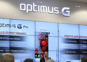 MWC 2013: LG Optimus G, Vu, F and L series hands-on