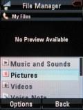 Screenshots of Motorola RAZR2 V8