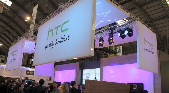 HTC booth at MWC 2011