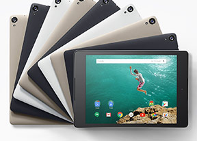 HTC Nexus 9 pictures, official photos