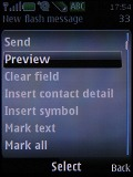 Screenshots of Nokia 6500 slide
