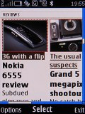 Screenshots of Nokia 8800 Arte interface