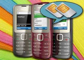 Nokia C2-00 review: Dual SIMbiosis