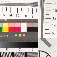 Nokia N97 Mini resolution chart