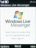 Nokia X3 screenshot