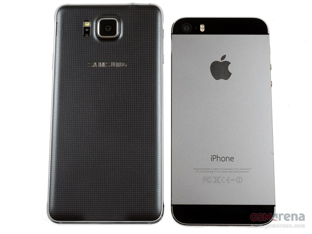 Samsung Galaxy Alpha pictures, official photos