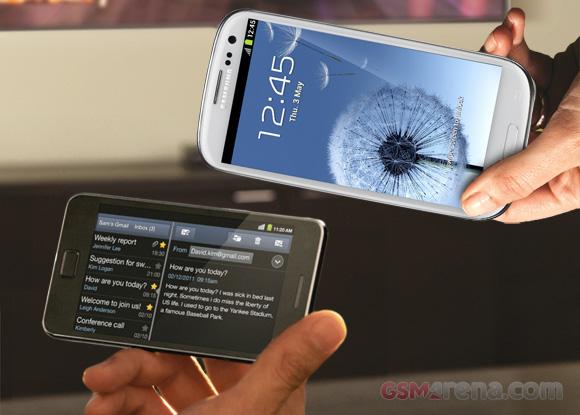 Samsung Galaxy S III Vs Galaxy S II