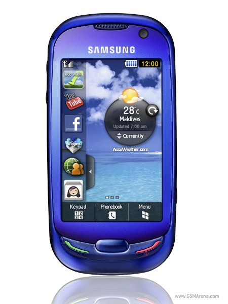 Samsung S7550 Blue Earth pictures, official photos