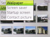 Sony Ericsson K660 interface