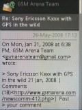 Sony Ericsson W595