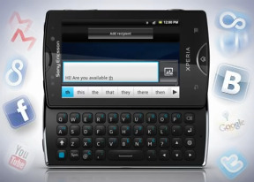 Sony Ericsson Xperia mini pro review: No small affair